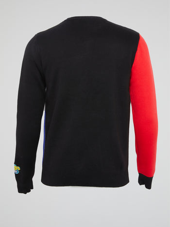 SpongeBob SquarePants Colour Block Jumper