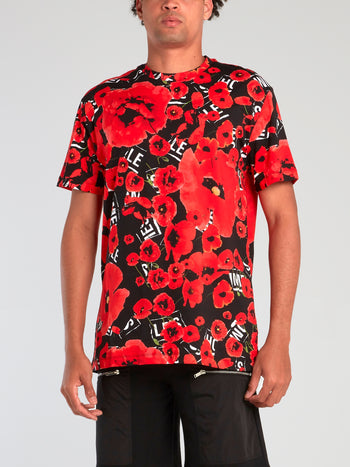 All Over Poppies T-Shirt