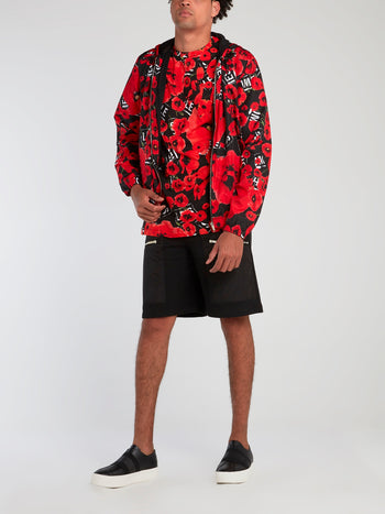 All Over Poppies Swim Shorts