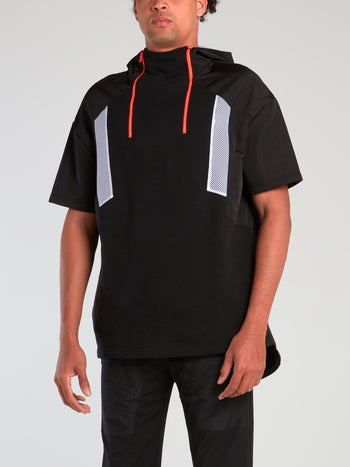 Black Long Tail Anorak