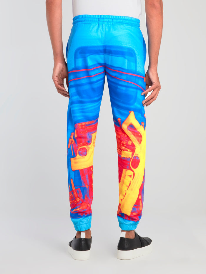 Cuffed Sublimation Track Pants