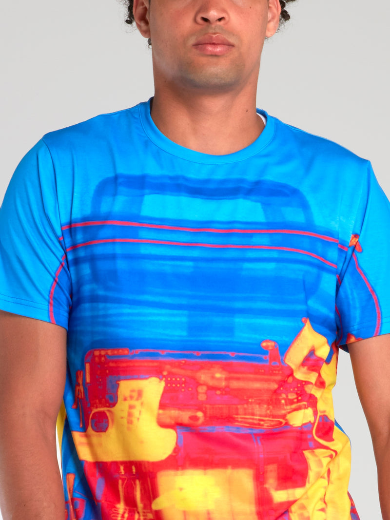 Logo Print Sublimation T-Shirt