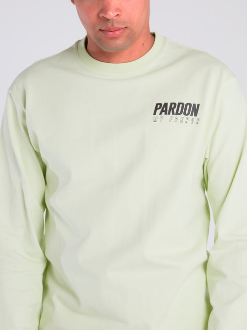 Green Logo Crewneck Sweatshirt