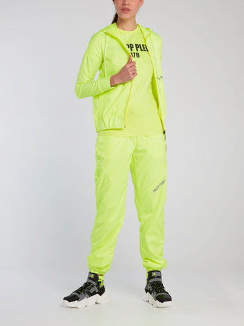 Neon Nylon Track Trousers