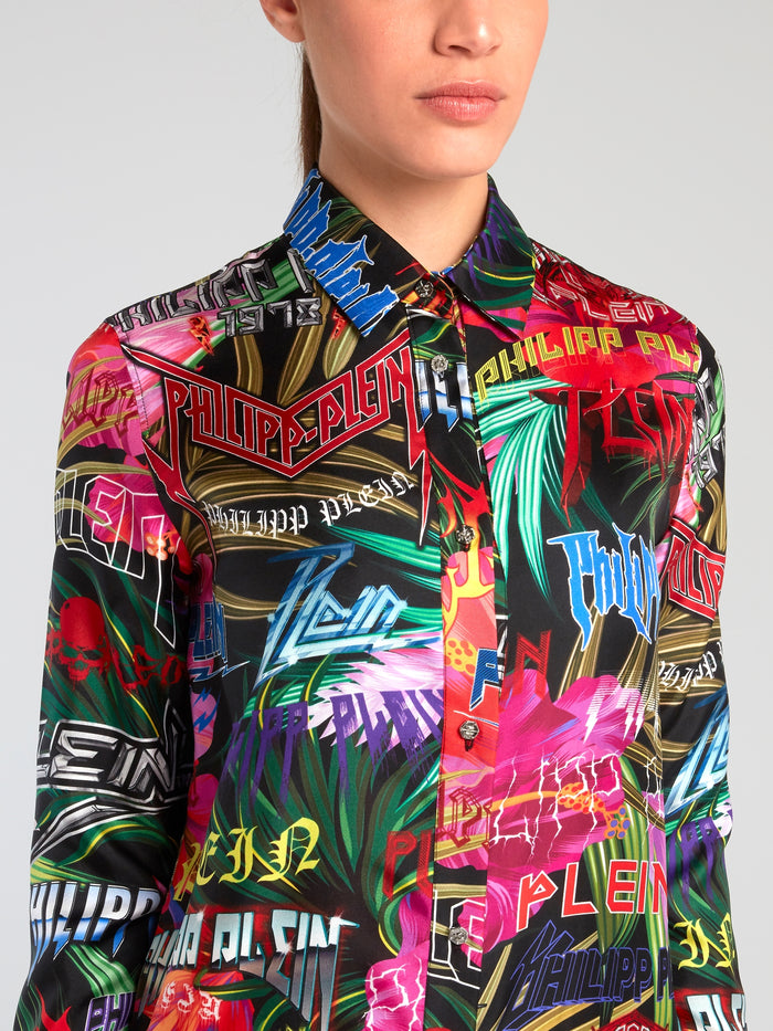 Jungle Rock Button Up Shirt