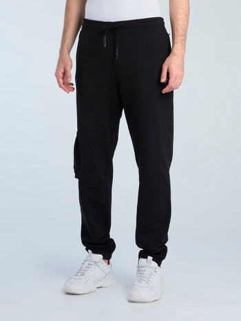 Black Cargo Core Pants
