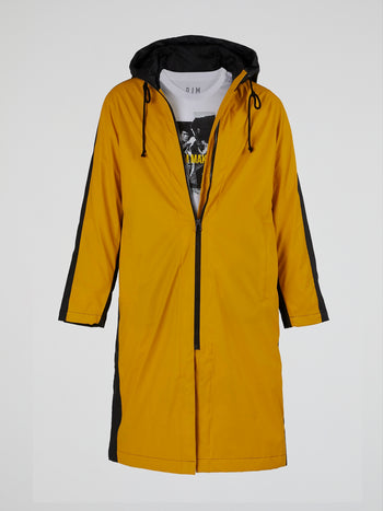 Two-Tone Rubber Raincoat