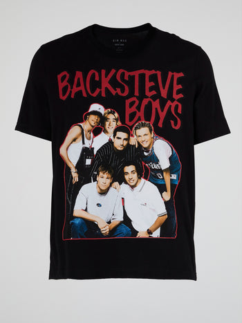 BackSteve Boys Bootleg T-Shirt