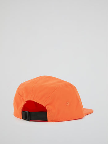 Orange Pane Soft Cap