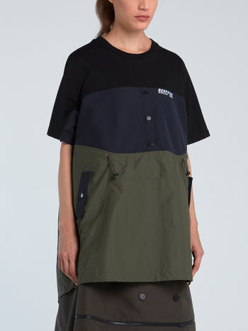 Windbreaker Short Sleeve T-Shirt