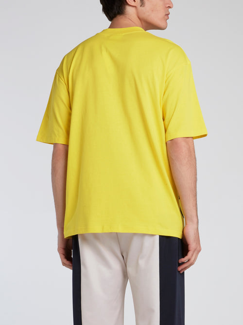 Poetry Acid Yellow Statement T-Shirt