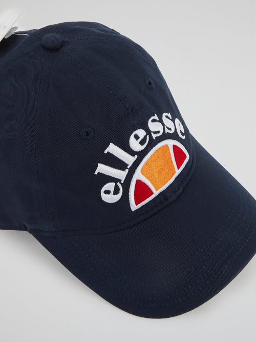 Saletto Navy Embroidered Cap