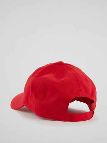 Saletto Red Embroidered Cap