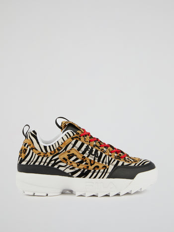 Disruptor II Animal Print Sneakers