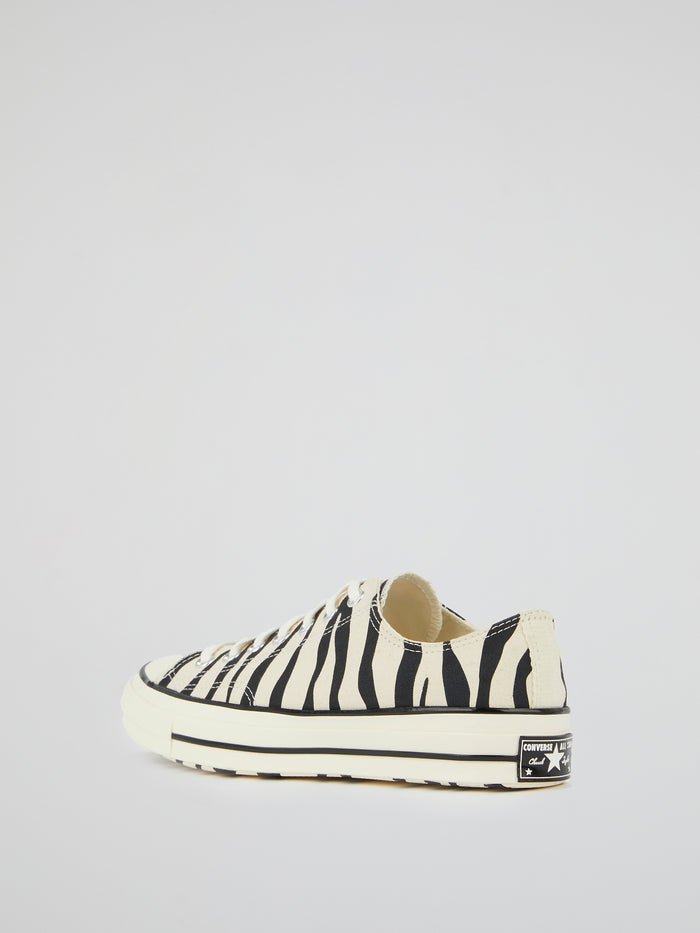 Chuck 70 OX Animal Print Canvas Sneakers