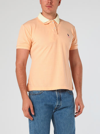 Double Collar Polo Shirt