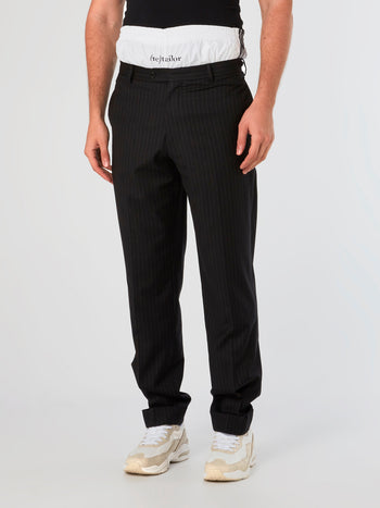 (Re)Tailor Black Chino Pants