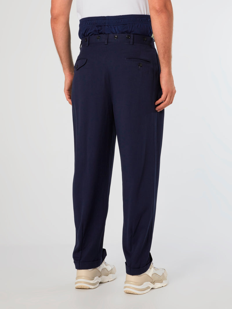 (Re)Tailor Navy Chino Pants