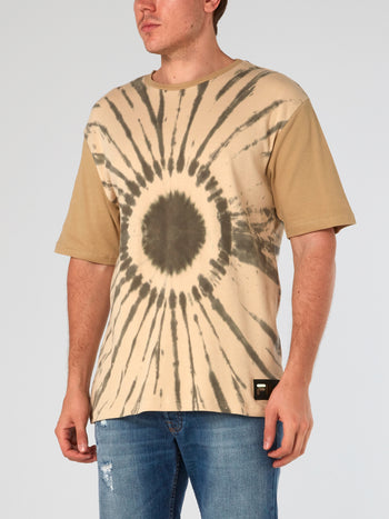 Drop Shoulder Tie Dye T-Shirt