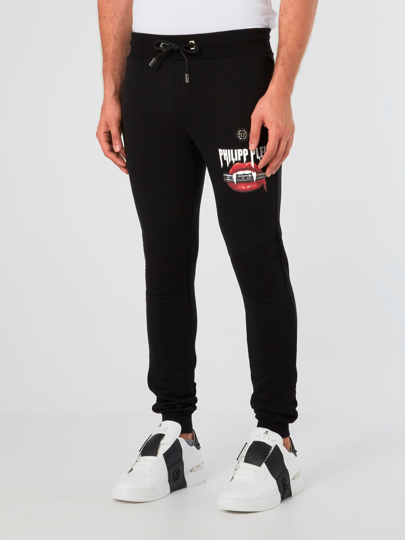 Vampire Graphic Jogging Trousers