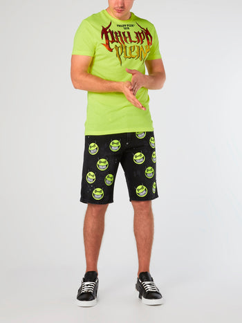 SS Rock PP Neon Yellow T-Shirt