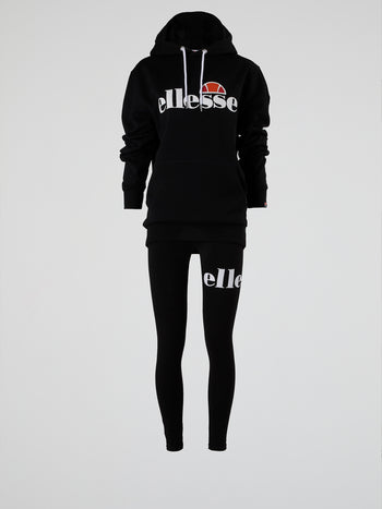 Picton OH Black Front Pocket Hoodie