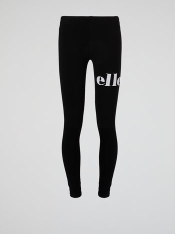 Pemadulla Black Logo Leggings