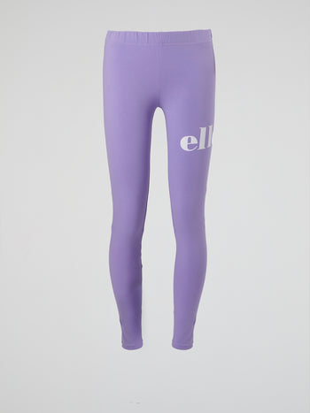 Pemadulla Purple Logo Leggings