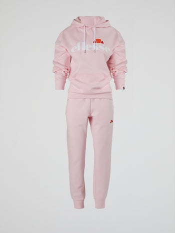 Forza Pink Ribbed Waistband Track Pants