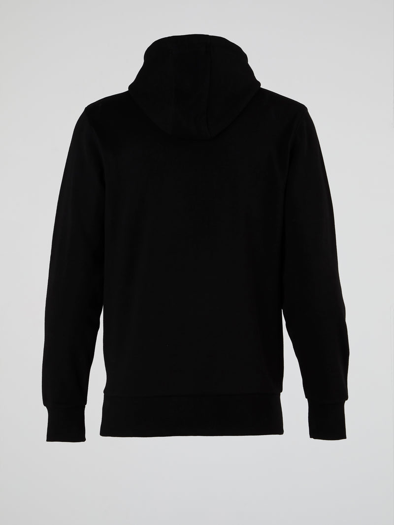 Daje FZ Black Hooded Sweatshirt