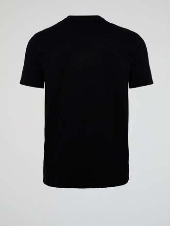 Grosso Black Statement T-Shirt