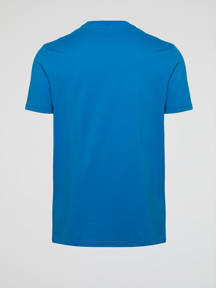Grosso Blue Statement T-Shirt