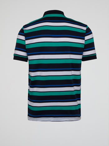 Concrete Striped Polo Shirt