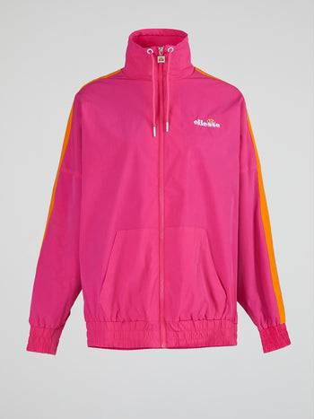 Bex Pink Zip Up Jacket
