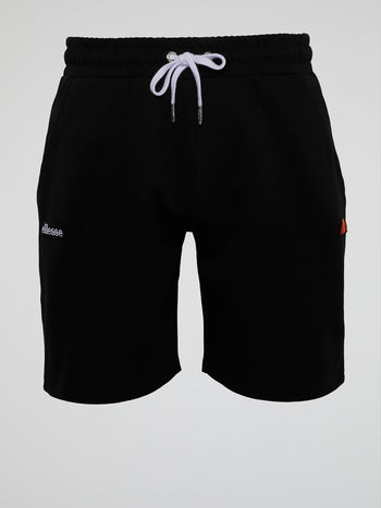 Sydney Black Drawstring Shorts