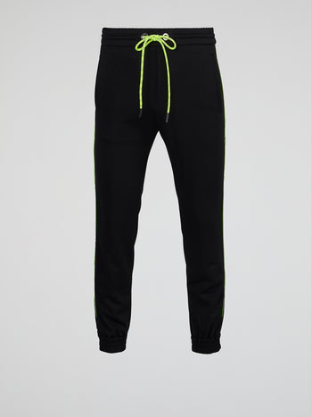 Black Neon Lining Sweatpants
