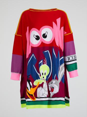 Looney Tunes Sweater Dress