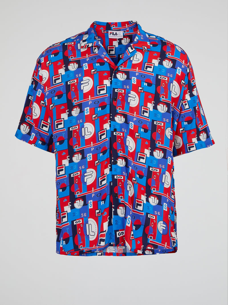 Blue Hawaiian Festival AOP Shirt