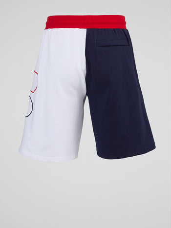 Logo Contrast Track Shorts