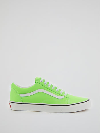 UA Green Old Skool Sneakers