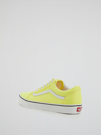 UA Yellow Old Skool Sneakers