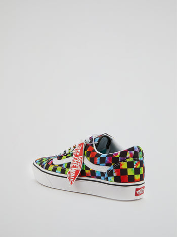 UA ComfyCush Old Skool Check Sneakers
