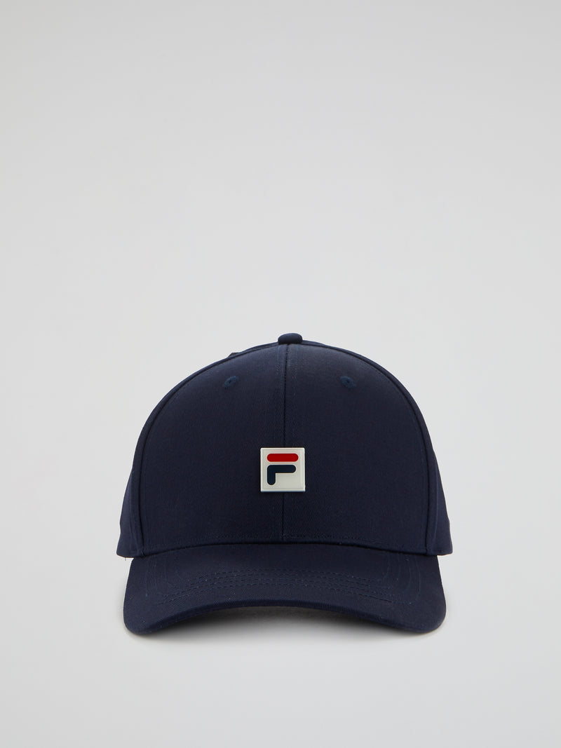 Navy Logo Patched Cap