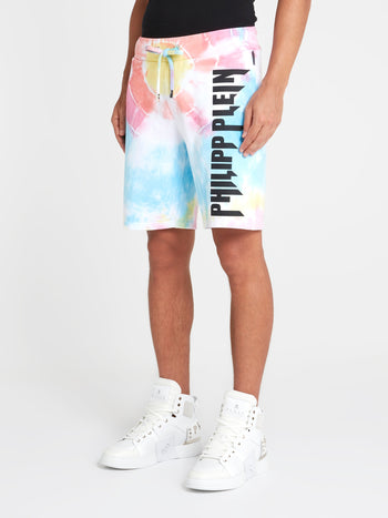 Tie Dye Active Shorts