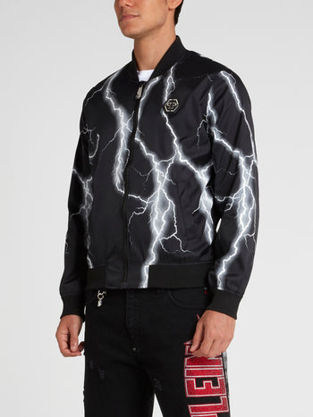 Thunder Zip-Up Nylon Jacket