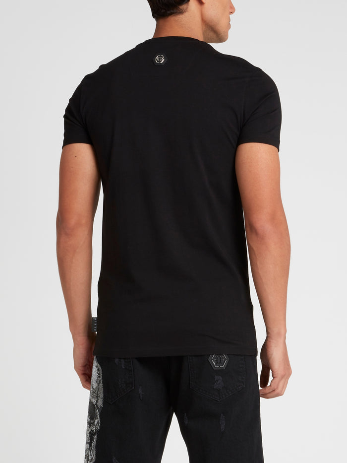 Rock PP Black Studded T-Shirt
