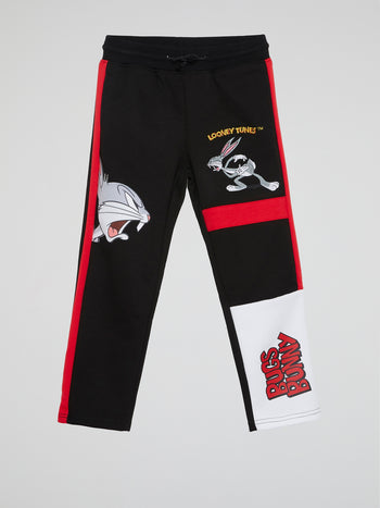 Bugs Bunny Black Sweatpants (Kids)