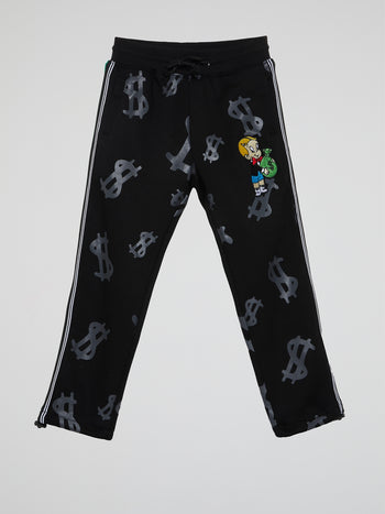 Richie Rich Black Sweatpants (Kids)