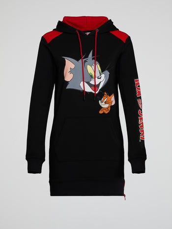 Tom and Jerry Hoodie Dress