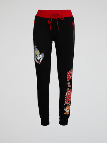 Tom and Jerry Drawstring Sweatpants